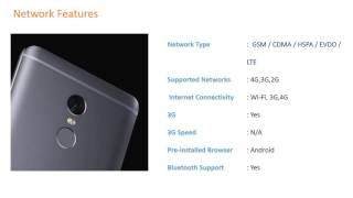 Latest Mobiles Lanched in India Xiaomi Redmi Note 4 64GB Full Phone Specifications