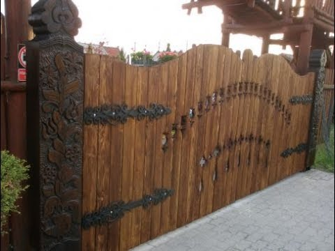 Wonderful wood fences inspirations