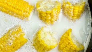 Век живи, век учись! Вот, в чём надо варить кукурузу! Бабушка научила...