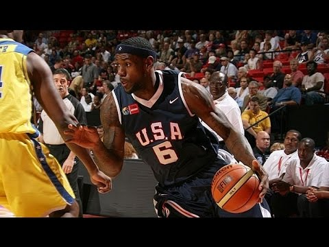 Virgin Islands vs USA 2007 FIBA Americas Basketball Championship Group Stage FULL GAME English