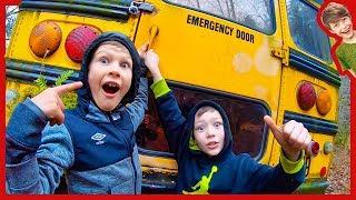 Should We Break Into the Abandoned School Bus?