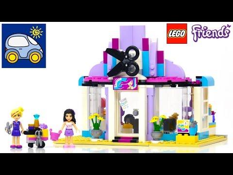 Лего Френдс. Парикмахерская Хартлейк 41093. Илья, Картонка, Кидландия и Lego Friends Hair Salon