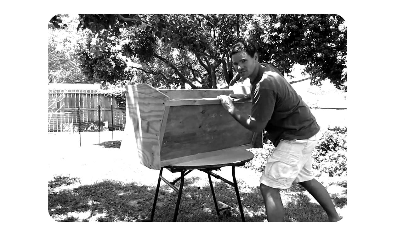 Top Bar Bee Hive Construction 1 - YouTube