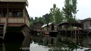 Dal Lake, Srinagar, with house boats