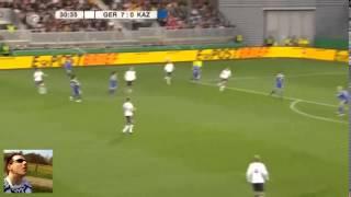 Deutschland 17:Kachastan 0 Rekord Frauenfußball