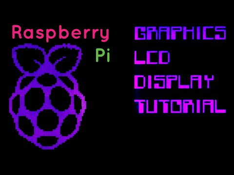 Using a graphics LCD display with the Raspberry Pi