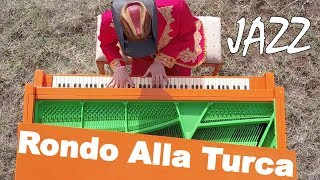 Rondo Alla Turca - Insanely Ridiculous Jazz Piano Arrangement with Sheet Music
