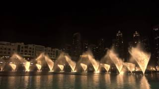 Dubai Fountain show 16 august 2016