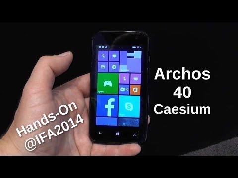 Archos 40 Caesium Hands On auf der IFA2014 - www.technoviel.de