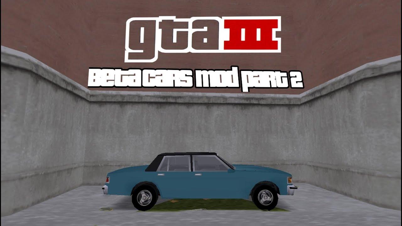 Grand Theft Auto 3 - Beta Cars Mod Part 2