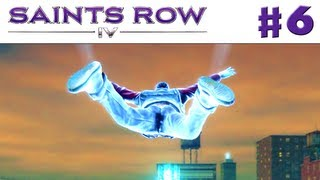 Saints Row IV - Gameplay Walkthrough Part 6 - Gliding Over the City (PC, Xbox 360, PS3)