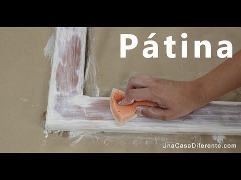 C mo pintar madera con efecto envejecido p tina youtube for Como envejecer un mueble blanco