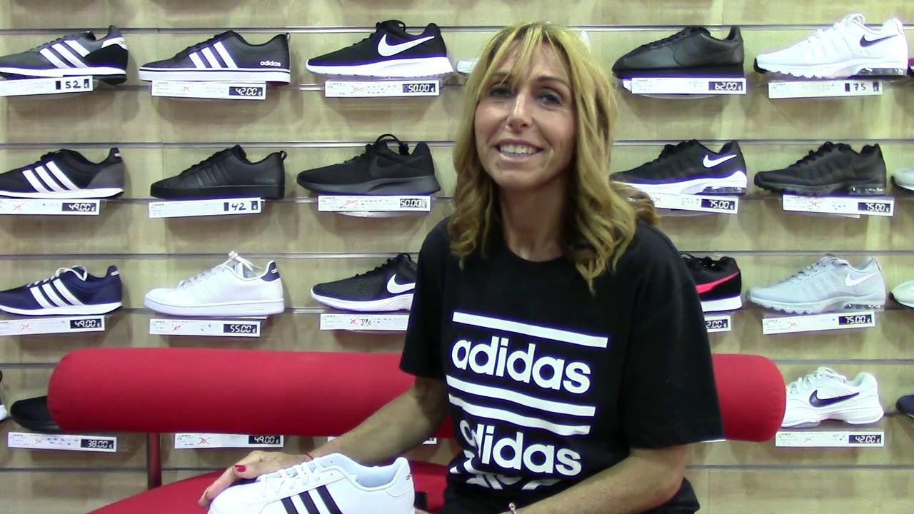 ADIDAS Zapatillas Blancas y Negras - Adidas Mujer 2019 -2020