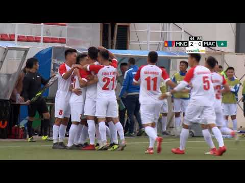 Mongolia - Macau Highlights (M) | EAFF E-1 Football Championship 2019 Preliminary Round 1 Mongolia