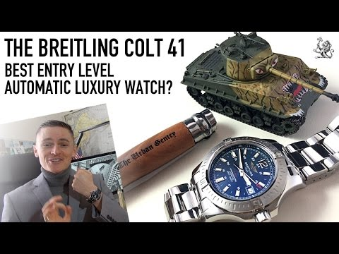 The Best Entry Level Automatic Luxury Watch? – The Breitling Colt 41 Review  (Ref. A1738811)