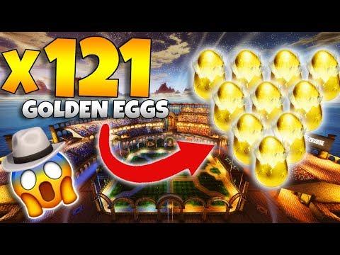 BIGGEST AND BEST GOLDEN EGG OPENING ON YOUTUBE! [INSANE 121 GOLDEN EGG OPENING]