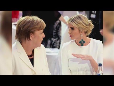 Ivanka Trump: In Berlin gibt es Buhrufe für die Präsidententochter