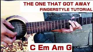 Fingerstyle Tutorial | The One That Got Away | Brielle Von Hugel | Easy Chords | Step by Step