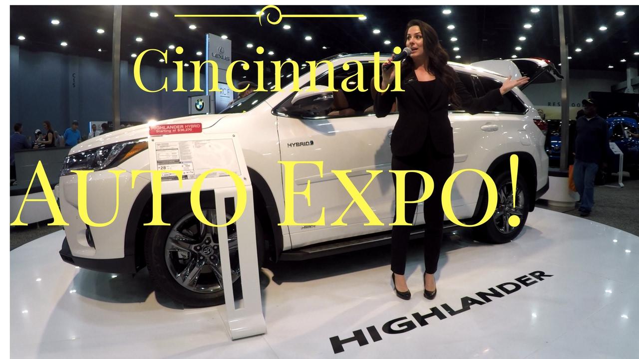 Cincinnati Car Show: Cincinnati Auto Expo 2017 Walkaround With GoPro Karma Grip