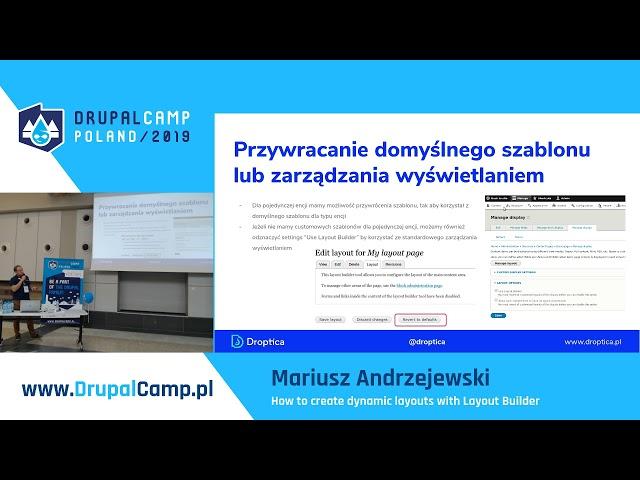 Channel : DrupalCampPoland | VideoDrupal org