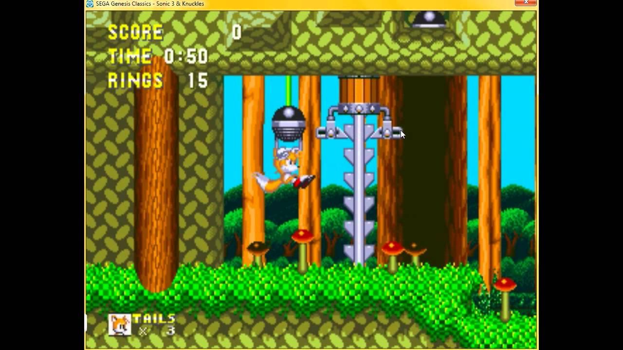 SC Cheats & Glitches: Sonic 3 & Knuckles - Debug & Level ...