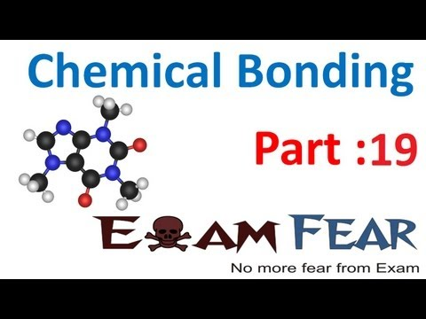 Chemistry Chemical Bonding part 19 (Valence bond theory) CBSE class 11 XI