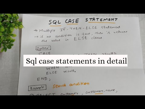 CASE STATEMENT IN SQL WITH 3 EXAMPLES   SQL TUTORIAL FOR BEGINNERS