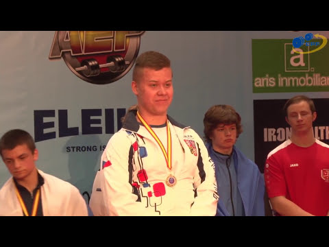 Aleš Krušina , Tomáš Novák - European powerlifting championship - Malaga,Spain
