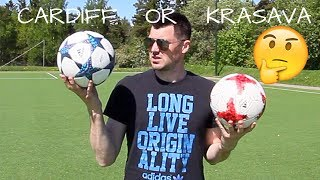 Buy Adidas Cardiff Ball or Adidas Krasava Ball???  AZUN Freestyle Football  мяч красава