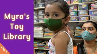 मयर च TOY गरथलय  Roxy Toy Library  Vlog 71  Marathi Vlog