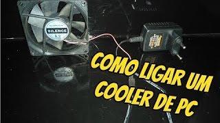 Como ligar um cooler