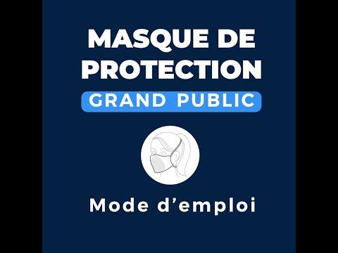 Mode d'emploi masques Grand Public Sigvaris