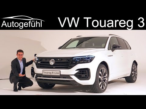 All-new VW Touareg 3 REVIEW 2019 2018 Volkswagen Touareg R-Line, Atmosphere, Elegance - Autogefühl
