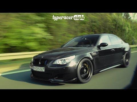 BMW M5 5,8L DINAN BLACK BEAST LOUD SOUNDS!