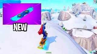 how to get the DRIFT BOARD in Fortnite..