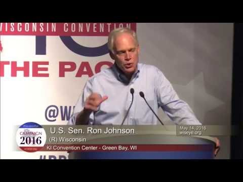 Morning Minute: U.S. Senator Ron Johnson (R-Wis.) Candidate for U.S. Senate