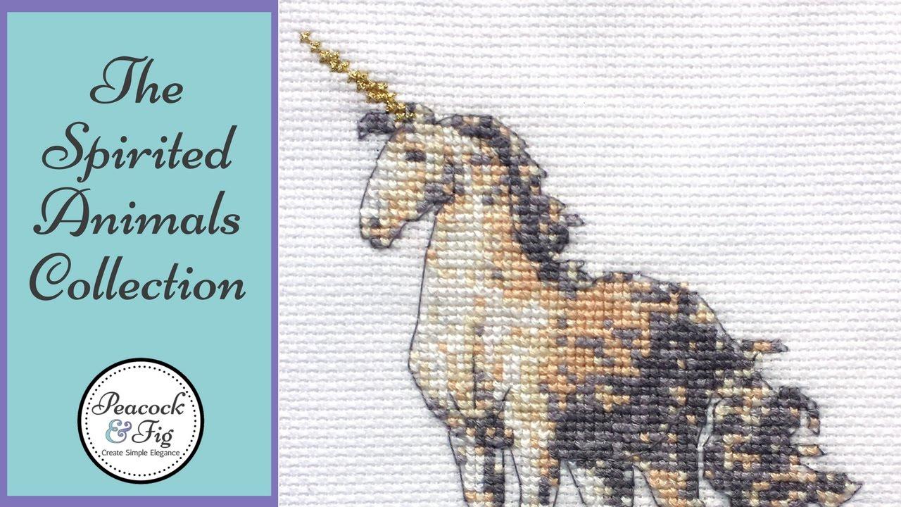 The Spirited Animals Cross Stitch Pattern Collection - Funny Cross Stitch  Patterns