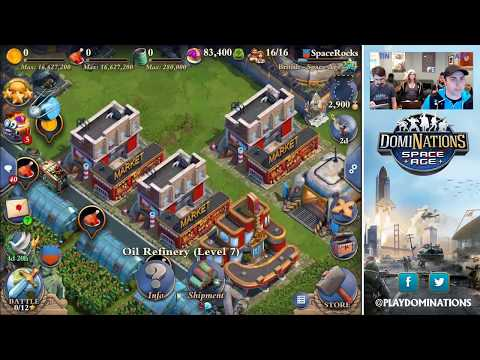 DomiNations: Space Age Community Stream (FULL)