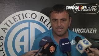 Diego Osella se refirió al apoyo de los hinchas de Belgrano