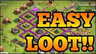 BEST TH6 ATTACKING STRATEGY *FARMING*! (CLASH OF CLANS)