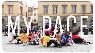 [K-POP IN PUBLIC - ITALY] STRAY KIDS - MY PACE DANCE COVER ~ [SUNSET 썬셋 CREW]