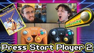 Beach Spikers (GameCube) Press Start Player 2: Episode 1