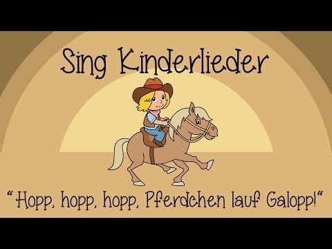 Hopp, hopp, hopp, Pferdchen lauf Galopp - Kinderlieder zum Mitsingen | Sing Kinderlieder