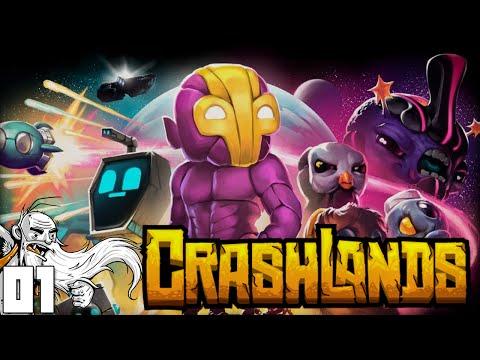 """DON'T STARVE MEETS TERRARIA!!!"" CrashLands Part 1 - 1080p HD PC Gameplay Walkthrough"