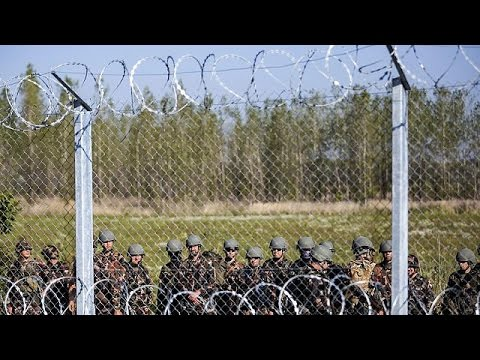 Hungarys new laws, razor fence to sharpen refugee control