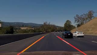 Naive Lane Line Detection using OpenCV