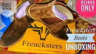 Freacksters Suede chelsea boots||Flipkart|| unboxing and full review on Ghumantu bawa