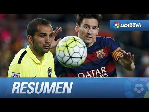 Resumen de FC Barcelona (4-1) Levante UD