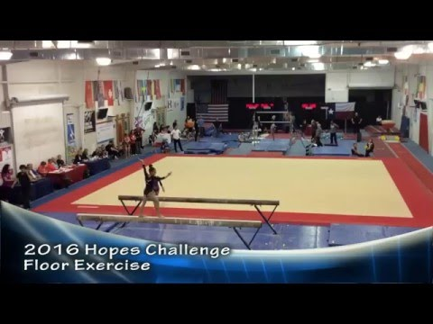 C. Alipio - 2016 Hopes Challenge - Floor Exercise