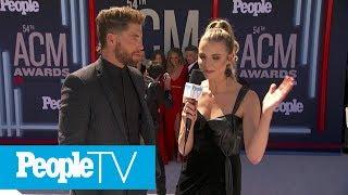 Chris Lane Says Lauren Bushnell Wants 'A Smaller Wedding' | PeopleTV